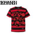 セール50%オフ ZEPHYREN ゼファレン BORDER S/S TEE Cut the world Tシャツ