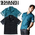 セール50%オフ ZEPHYREN ゼファレン PAISLEY PRINT SHIRT S/S Resolve 半袖シャツ