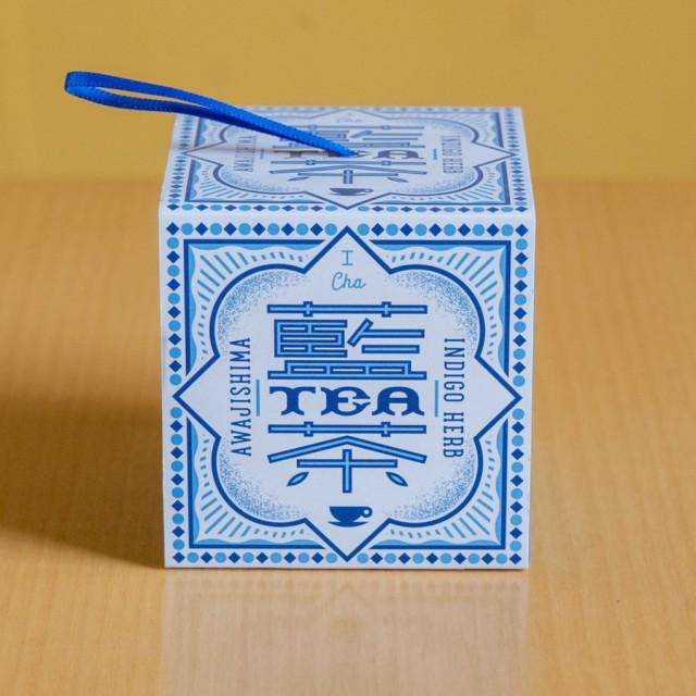 おのころ藍の藍茶