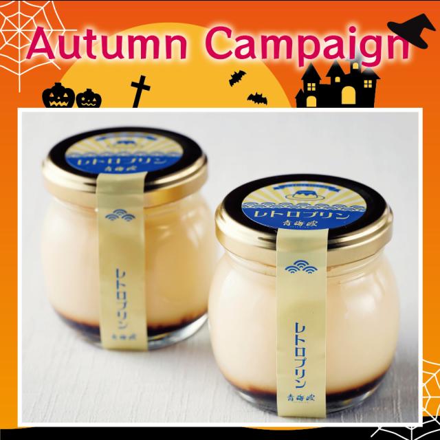 【同梱可】青海波 レトロプリン Autumn Campaign