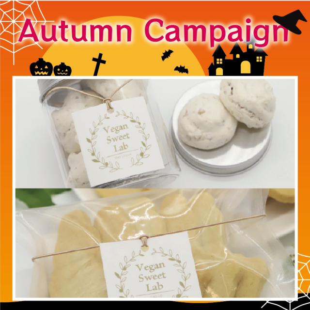 【同梱可】島のヴィーガンサブレ・くるみメレンゲ Autumn Campaign