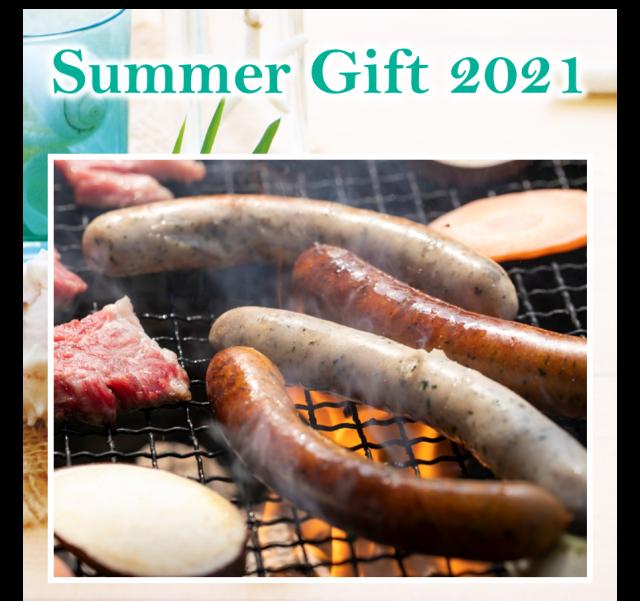 【同梱可】自家製ソーセージセット(5本×6P) Summer Gift