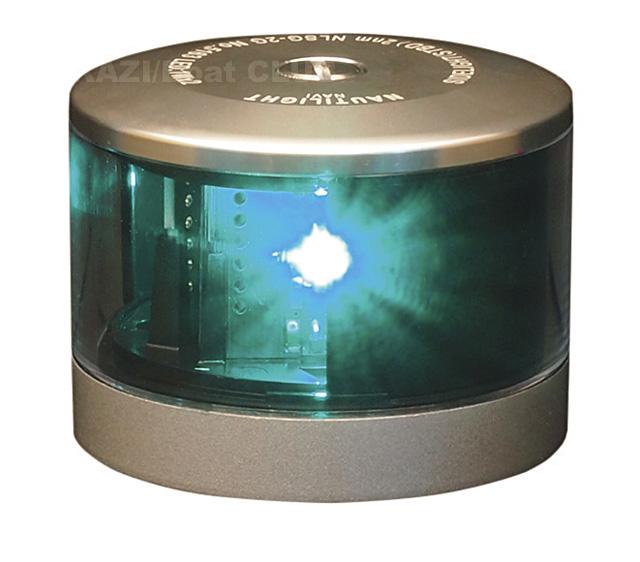 LED 第二種舷灯(緑) NAUTILIGHT NLSG-2G ☆70709
