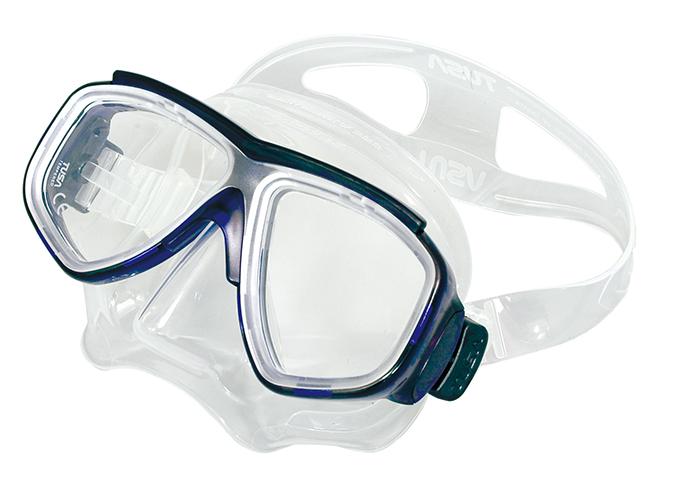 TUSA ダイビングマスク M7500-CBL ☆70008