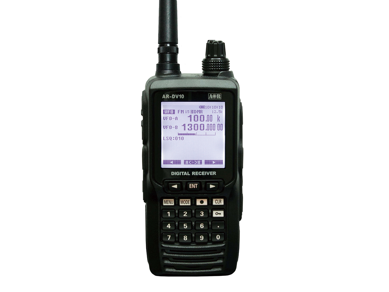 AOR 広帯域デジタルレシーバー AR-DV10/COSPASモデル ☆72604