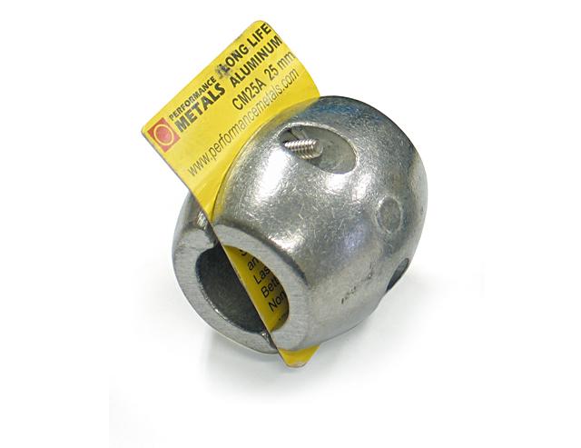 電食防止アノード 25mmΦ タマゴ型 ☆70962