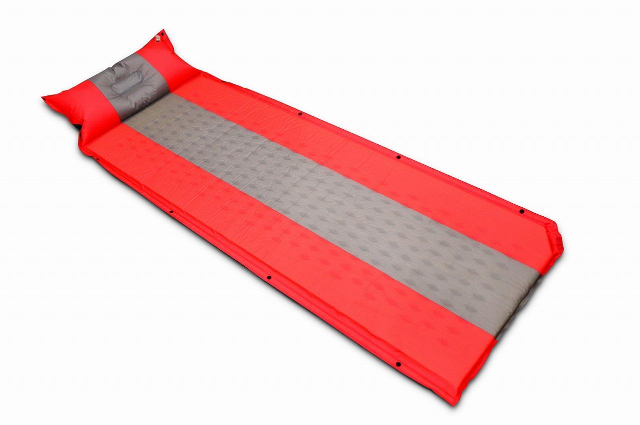 EX.二人用浮具にもなる 自動膨張マットレス枕付き  73424
