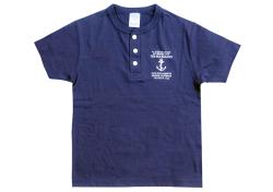 The Old Sailor's シップヤードヘンリーTシャツ  72253