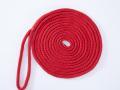 アイ付きロープ レッド 18ミリ×15メーター アイサイズ 50センチ