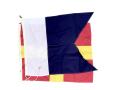 国際規格信号旗 アルファベット