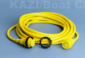 陸電コード マリンコCS30-50 AC125V/30A 7.5m 71059