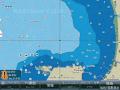 シーマップ・漁礁入り海図カード ☆71404