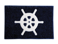 ウエルカムマット 舵輪 68932