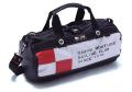 JIBフラッグシリーズ・ブラックボディ ボーダーダッフルS 70260