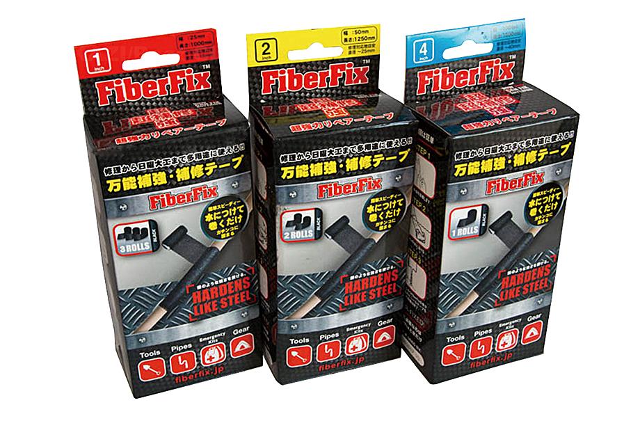 グラスファイバー補修テープファイバーフィックス 71814