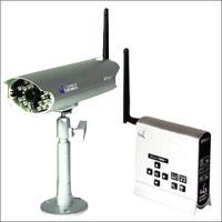 Alter+オルタプラス 防滴赤外線搭載デジタル2.4GHz帯・無線カメラセット AT-2400WCS