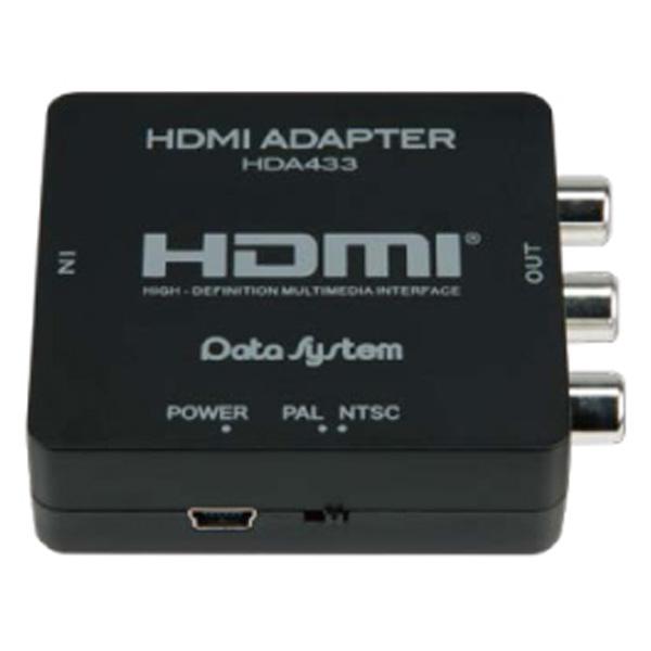 ダウンスキャンコンバーター HDMI入力 RCA出力  HDA433-D