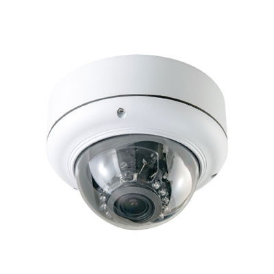 SDカード録画機能搭載 設定リモコン付 ドームカメラ ASD-02