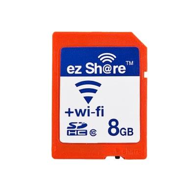 Wi-Fiの電源スイッチを搭載したClass10のSDカード ezShare SDカード8GB