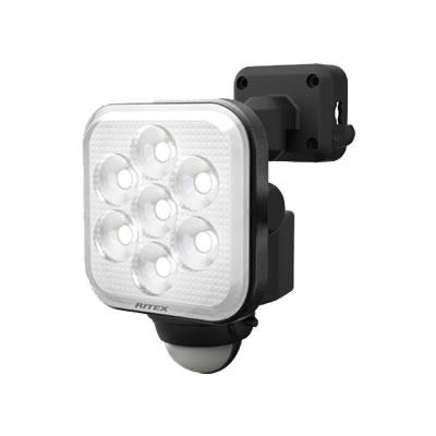 8W×1灯 フリーアーム式LEDセンサーライト LED-AC1008