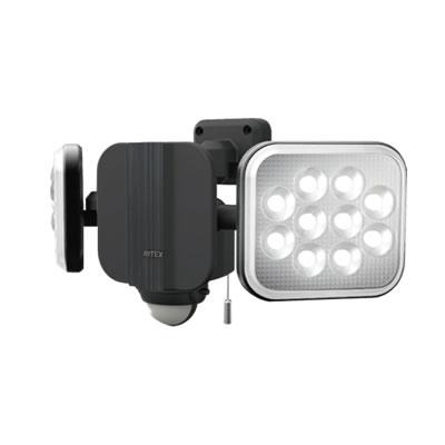 14W×2灯 フリーアーム式LEDセンサーライト(常時点灯可) LED-AC2028