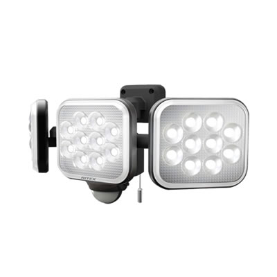 14W×3灯 フリーアーム式LEDセンサーライト LED-AC3042