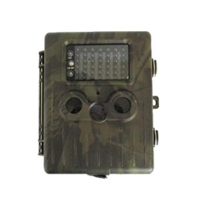 不可視赤外線搭載乾電池稼動トレイルカメラ 迷彩柄
