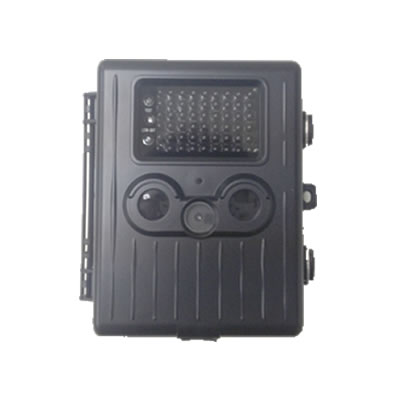 不可視赤外線搭載乾電池稼動トレイルカメラ ブラック色