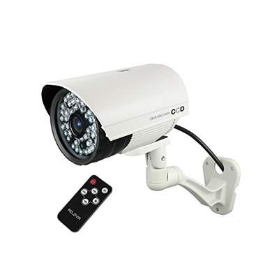 リモコン付SD録画機能搭載屋外赤外線付カメラ OL-022W