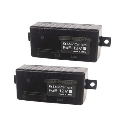 LANケーブルで給電できるPoEアダブター PoE-12V III