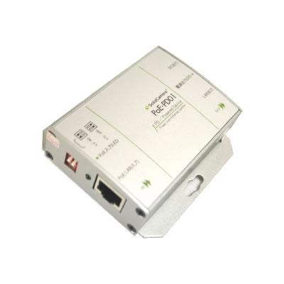 DC5V/12V出力用のPoEスプリッター  PoE-PD01