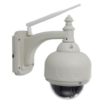 光学ズーム付100万画素屋外パンチルトP2Pネットワークカメラ RCC-9805WP