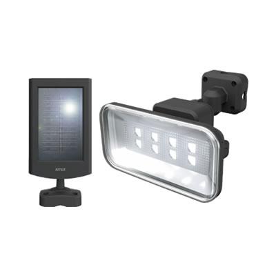 5Wワイド フリーアーム式LEDソーラーセンサーライト S-50L