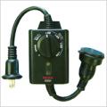 光センサー付タイマーコンセント CDS24
