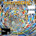 SanDisk microSDHC【16GB】(正規品class4)1年保証付