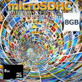 SanDisk microSDHC【8GB】(正規品class4)1年保証付