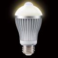 人センサー付LED電球60型(電球色相当)S-LED60L