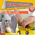 超薄型耐切創手袋  メトロポリス スペクトラガード(フリーサイズ)