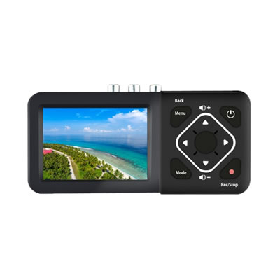 液晶搭載ビデオレコーダー 簡単ビデオダビング TADREC-S