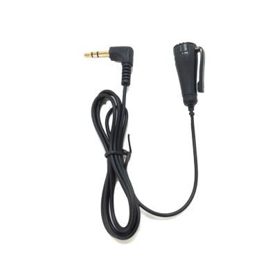 【メール便可】φ3.5mmボイスレコーダー用外部マイク(プラグインパワー方式) TEL-300