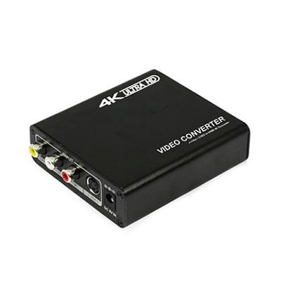S端子/コンポジット→4K HDMIコンバーター TSCHDMI4