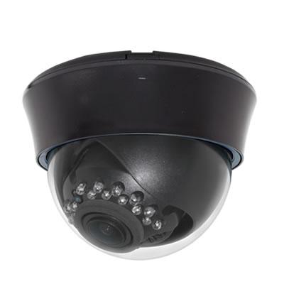 220万画素Wi-Fi対応屋内赤外線付ドーム型IPカメラ ブラック色 WTW-EGDR22BHE2