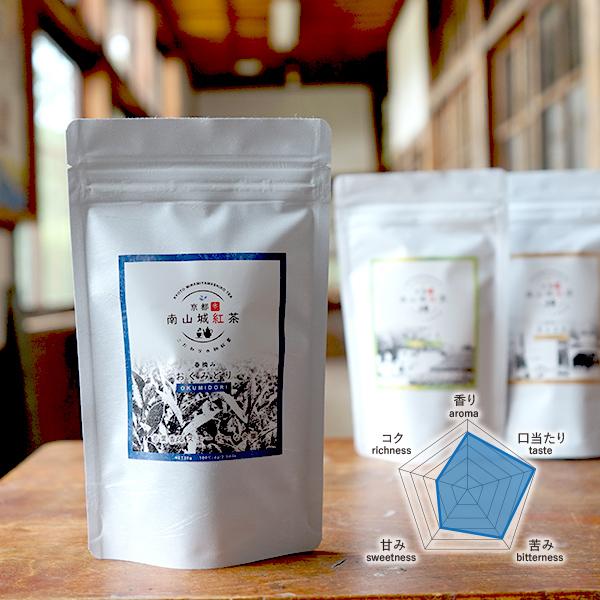 南山城紅茶【品種:おくみどり】ファーストフラッシュ 2020年春摘み 「京都の和紅茶」 メール便可 30g