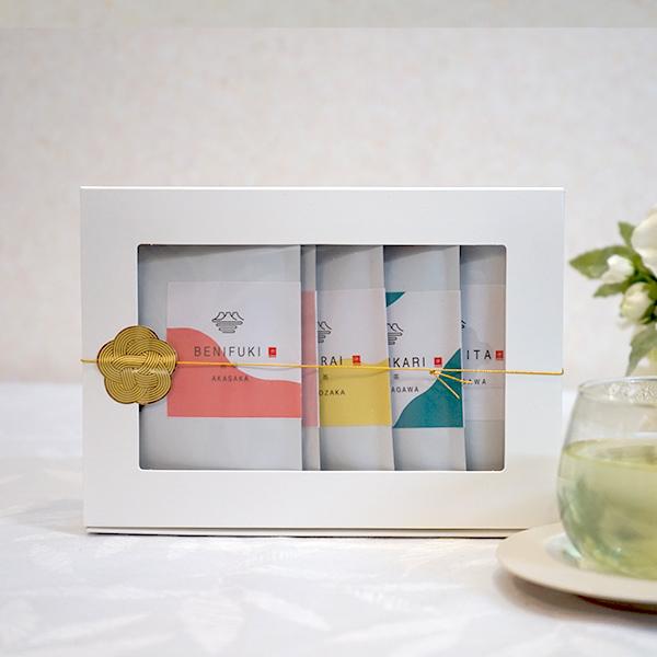品種茶セット(煎茶・かぶせ茶 6品種 飲み比べ)各種35g × 6