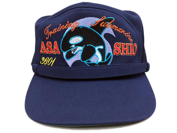 部隊識別帽(練習潜水艦あさしおType2)・アゴヒモ付
