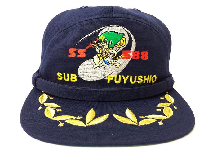 部隊識別帽(潜水艦ふゆしおType2)【退役】