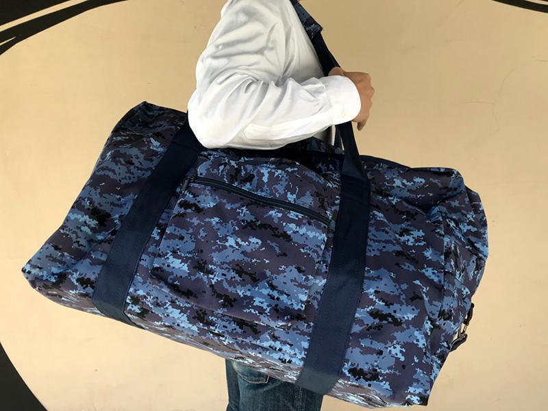 陸上自衛隊衣のうタイプボストンバッグ(海上自衛隊デジタル迷彩柄)