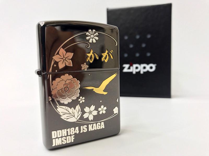護衛艦かがZIPPO(加賀ブラック)