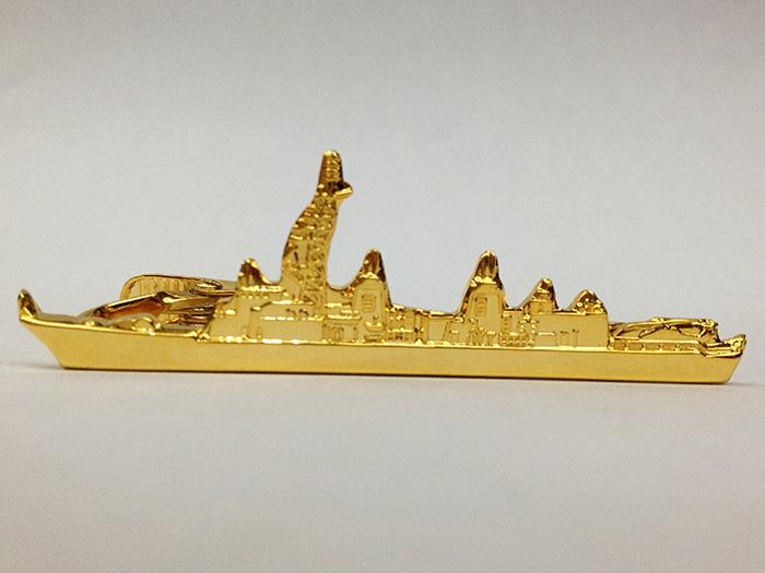 ネクタイピン(護衛艦むらさめ型)