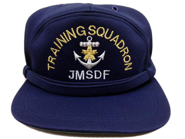部隊識別帽(練習艦隊司令部[旧デザイン])アゴヒモ付